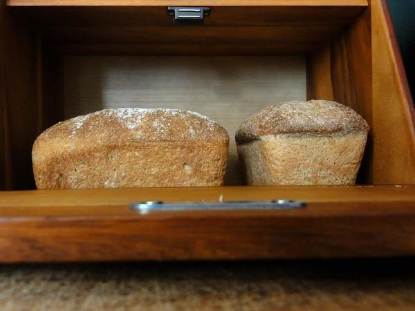 Boîte pour ranger pain fait maison