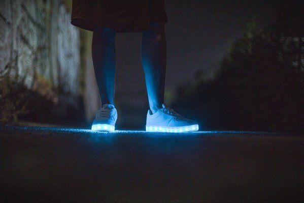 chaussures led adaptées à tous