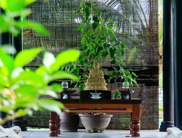 espace zen intérieur