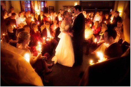 Le rituel des quatre bougies