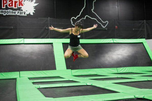 faire trampoline
