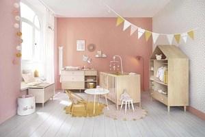 L'habillage mural de la chambre de bébé